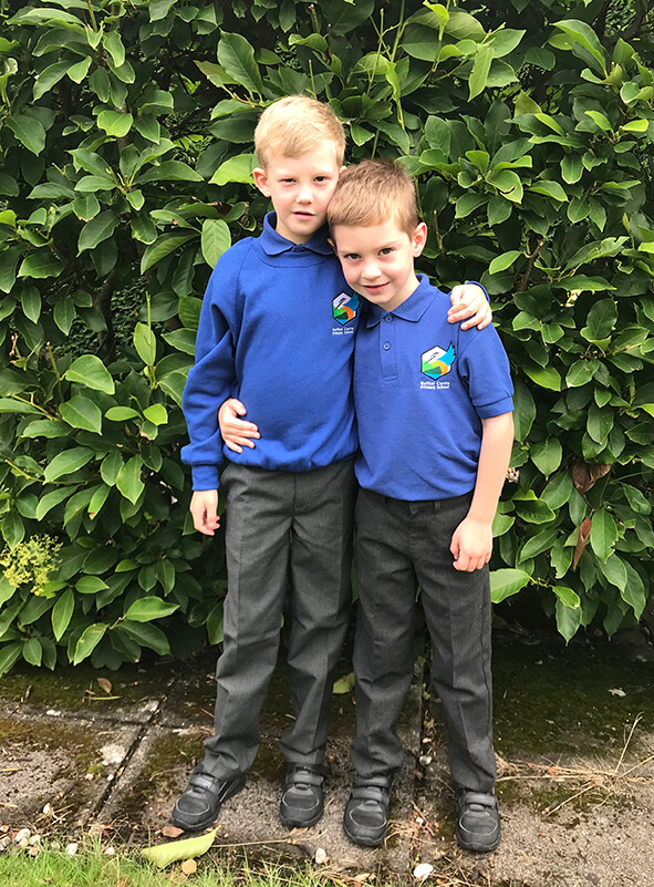 Nether Currie Primary School brand new uniform