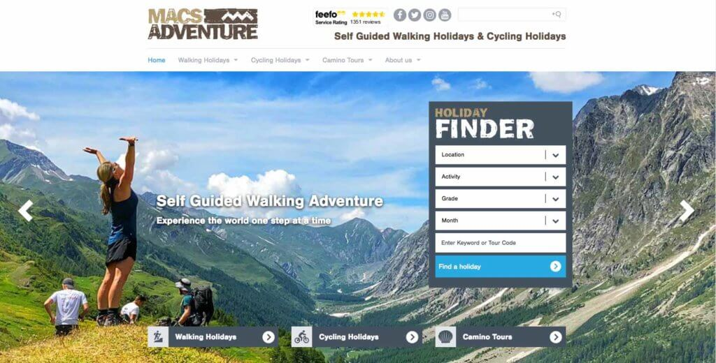 Macs Adventure - Site Holiday Finder